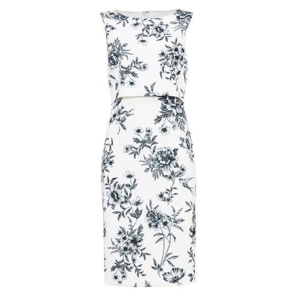 Phase Eight Damen Kleid Romily , weiß/navy, 34 von ansehen!