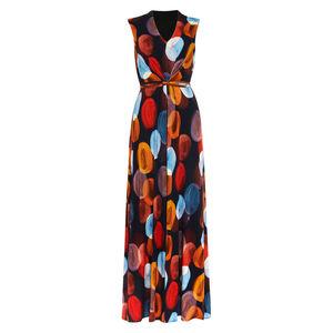 Phase Eight Damen Maxi Kleid Josefina, mehrfarbig, 36