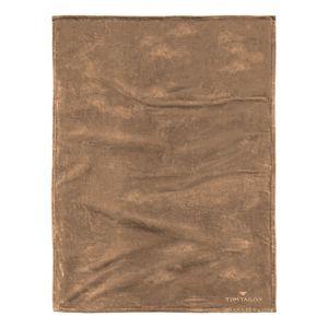 Fleece Decke Angorina - Camel, Tom Tailor