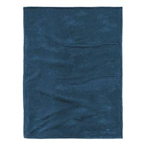 Fleece Decke Angorina - Petrol, Tom Tailor