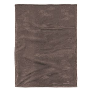 Fleece Decke Angorina - Braun, Tom Tailor