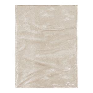 Fleece Decke Angorina - Beige, Tom Tailor