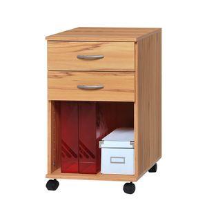 Rollcontainer Mark - Kernbuche Dekor, home24 office