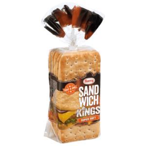 Harry Sandwich Kings Super Soft 500g