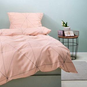 Bettwäsche geometrisches Muster 135x200 cm