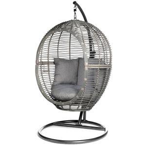 Relax Chair, D:126cm x H:194cm, dunkelgrau