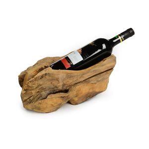 Weinhalter Teakholz, 25x20x20 cm, natur