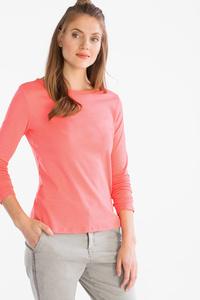 Yessica         Basic-Langarmshirt - Bio-Baumwolle