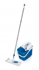 Leifheit Bodenwischer Combi Clean Set M ,  Color Edition, pure blue