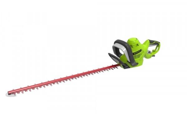Greenworks heckenschere elektro 500 watt 52 cm schnittlänge von