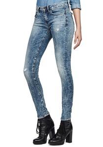 G-Star Midge Zip Mid Skinny Lor Superstretch - Jeans für Damen - Blau