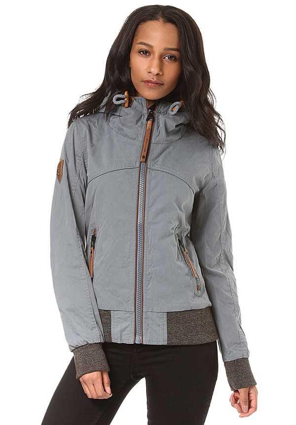 Naketano Pallaverolle - Jacke für Damen - Blau von Planet Sports ... 1faf22145a