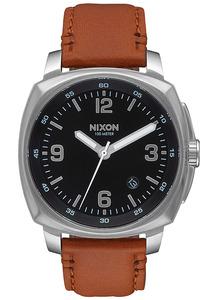 Nixon Charger Lthr - Uhr für Herren - Schwarz
