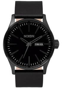 Nixon Sentry Lthr - Uhr für Herren - Grau