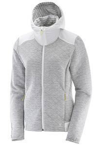 Salomon Elevate FZ Mid - Sweatjacke für Damen - Grau