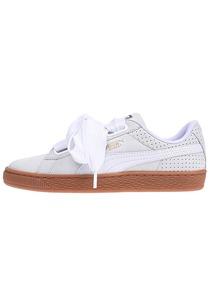 Puma Basket Heart Perf Gum - Sneaker für Damen - Beige