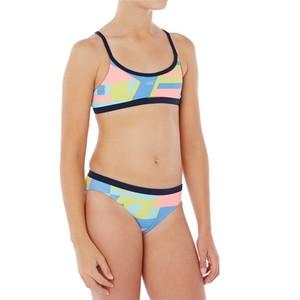 NABAIJI Bikini-Set Riana Num Mädchen blau/grün, Größe: 10 J. - Gr. 140