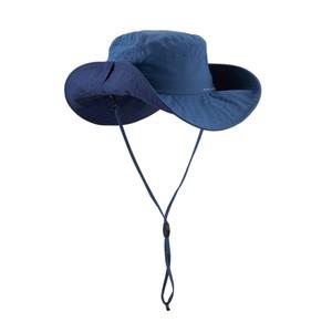 FORCLAZ Wanderhut 500 UV-Schutz blau, Größe: 56 CM