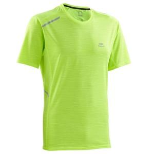 KALENJI Laufshirt kurzarm Run Dry+ Herren gelb , Größe: S