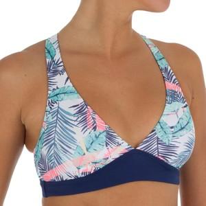 ROXY Bikini-Oberteil Neckholder Bali Palm fortgeschrittenes Surfen Damen , Größe: XS