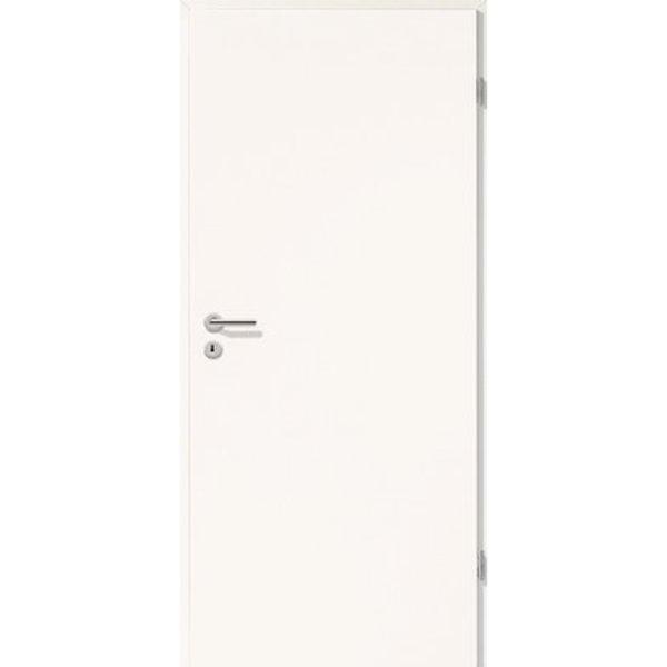 Zimmertür CPL Weiß (GL223) 73,5 cm x 198,5 cm Anschlag Links