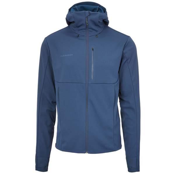 new products c3358 8b36d Mammut Ultimate V SO Hooded Jacket Männer - Softshelljacke