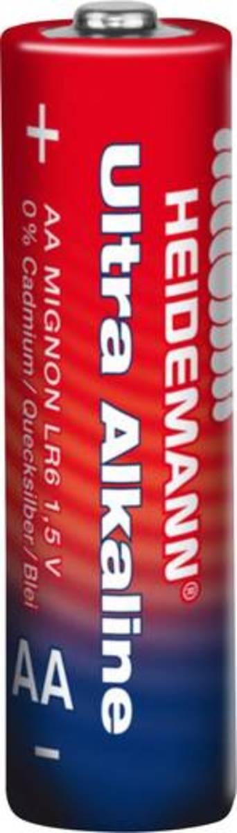 Bild 2 von Mignon (AA)-Batterie Alkali-Mangan Heidemann Ultra 1.5 V 4 St.