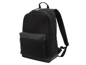"""Networx Raven Backpack, Rucksack für MacBook bis 15"""", Canvas/Leder, schwarz"""