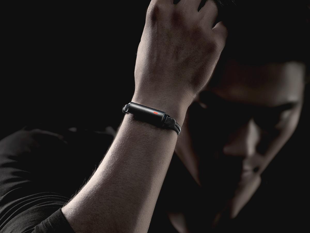 Bild 4 von Misfit Ray, Aktivitätstracker, mit Sportarmband, Bluetooth, schwarz