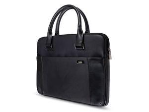 """Artwizz Leather Bag, Ledertasche für MacBook 13"""", schwarz"""
