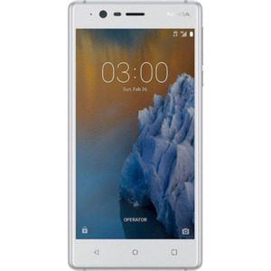 Nokia 3 16GB Silber Android™ 7.0 Smartphone