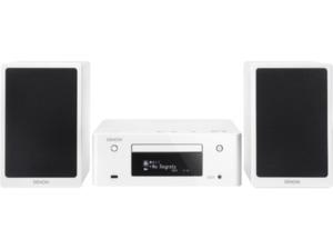 DENON Ceol N9 Netzwerk-Kompaktanlage mit CD und UKW (iPod Steuerung, USB-Speicher, iDevices, CD, Netzwerkquellen, Bluetooth, Weiß hochglanz)