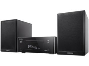 DENON Ceol N9 Netzwerk-Kompaktanlage mit CD und UKW (iPod Steuerung, USB-Speicher, iDevices, CD, Netzwerkquellen, Bluetooth, Schwarz hochglanz)