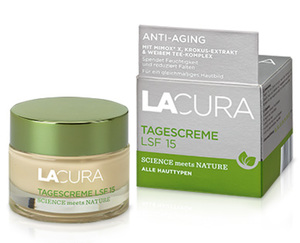 LACURA Tagescreme LSF15 oder Nachtcreme