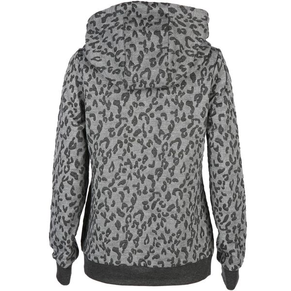 Damen Hoody im Animalprint