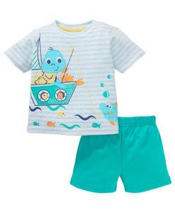 Ergee - T-Shirt + Shorts - Angel, Tiere - 2-tlg. Set