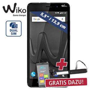 Smartphone Lenny 4 Plus inkl. Selfie-Stick • 2 Kameras (5 MP/8 MP) • microSD™-Slot bis zu 64 GB • Android™ 7.0 + Selfie-Stick (o. Handy) im Wert von 19,99 €