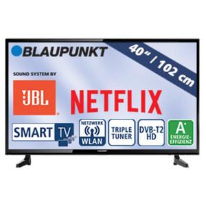 """40""""-FullHD-LED-TV BLA-40/148M • H.265, 3 HDMI-/2 USB-Anschlüsse, CI+ • Stand-by: 0,5 Watt, Betrieb: 48 Watt • Maße: H 55,2 x B 92,8 x T 9,1 cm • Energie-Effizienzklasse A+ (Spektrum A++ b"""
