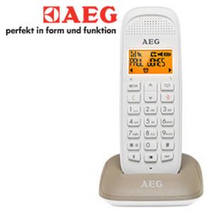 SchnurlosDECT-Telefon VOXTEL D81 • Telefonbuch für bis zu 50 Einträge • Eco-Modus, Standard-Akkus