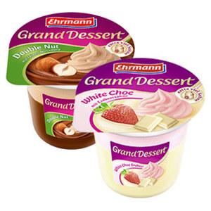 Ehrmann Grand Dessert versch. Sorten, jeder 190-g-Becher