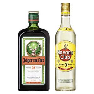 Havana Club Rum 3 Jahre oder Jägermeister 40/35 % Vol., jede 0,7-l-Flasche