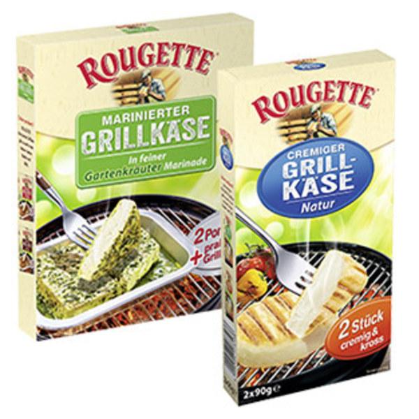 Rougette Grillkäse 55 % Fett i. Tr., versch. Sorten, jede 180-g-Packung
