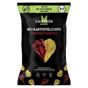 My Chipsbox Green  Bio Kartoffelchips jeder 90-g-Beutel