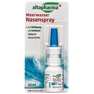 altapharma Meerwasser Nasenspray 8.95 EUR/100 ml