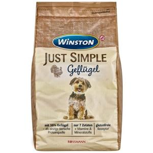 Winston Just Simple Trockenfutter Geflügel 2.13 EUR/1 kg