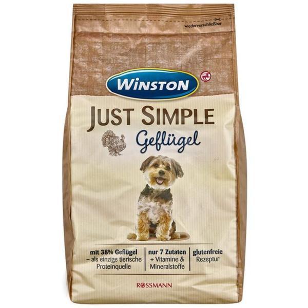 Winston Just Simple Trockenfutter Geflügel 2.13 EUR/1 kg