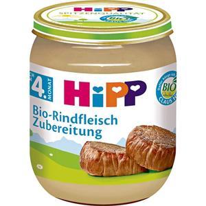 HiPP Bio-Rindfleisch Zubereitung 1.00 EUR/100 g (6 x 125.00g)