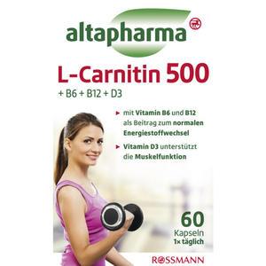 altapharma L-Carnitin 500 9.06 EUR/100 g