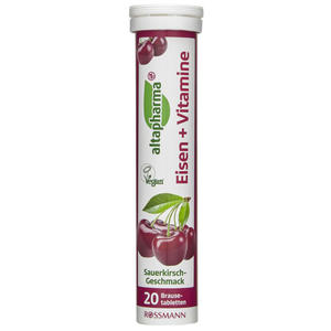 altapharma Brausetabletten Eisen + Vitamine 0.49 EUR/100 g