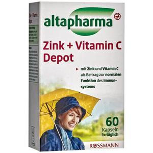 altapharma Zink + Vitamin C Depot 5.24 EUR/100 g